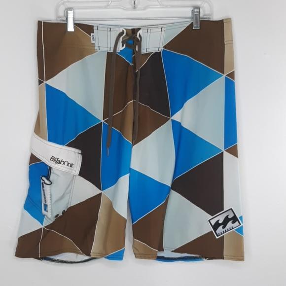 Billabong Quad Stretch Size 34 Board shorts